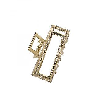 Large Metal Hair Claw Clips Hair Catch New Style Jaw Clamp For Women