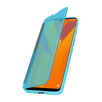 Cover for Wiko Y62 Translucent Window and Touch Wiko Easy Folio Green