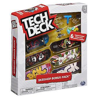 Tech Deck 96mm Fingerboard Sk8Shop Bonus 6-Pack - DGK