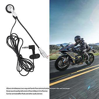 Motorcycle Helmet Interphone Walkie Talkie Communication Intercom Headphone