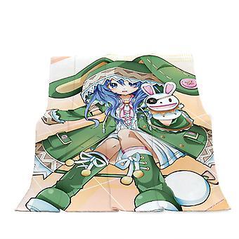 Sarjakuva Lasten huopa Toimisto Torkku Sohvapeitto Lastentarha Lahja Anime Flannel Blanket
