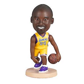 Caraele Kobe Bryant Figurine d'action Statue Bobblehead Basketball Doll Décoration