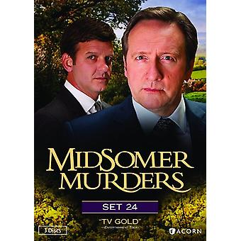 Importazione USA Midsomer Murders Set 24 [DVD]