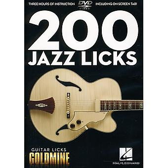 200 Jazz Licks [DVD] USA import