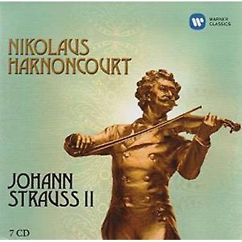 Nikolaus Harnoncourt - Johan Strauss II [CD] USA import