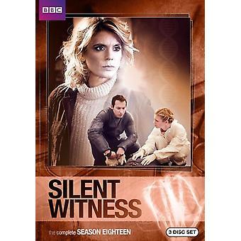 Tyst vittne: Säsong 18 [DVD] USA import