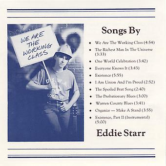Eddie Starr - We Are the Working Class [CD] USA import