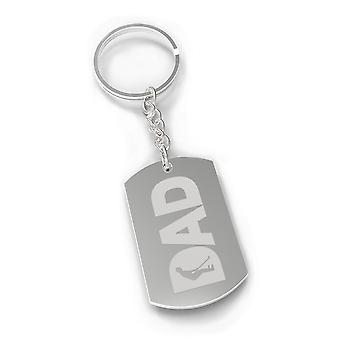 Dad Golf Key Chain Unique Design Humorous Gift Ideas For Golf Dads