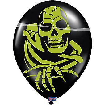 8 balloons balloon skeleton ghost Halloween horror horror