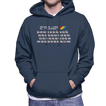 Verwenden Sie immer ein Rubber Spectrum ZX Herren Sweatshirt mit Kapuze