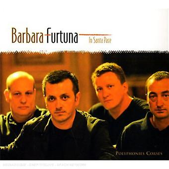 Barbara Furtuna - In Santa Pace [CD] USA import