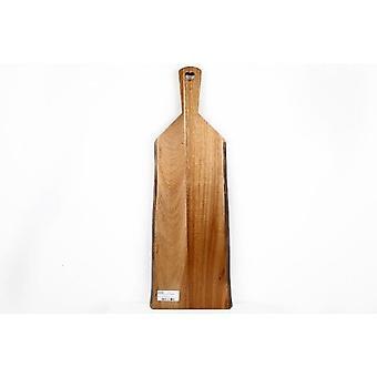 55X20CM ACACIA in legno presentazione PADDLE serve chopping BOARD vassoio HOME cucina