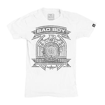 Bad Boy Eagle T-Shirt-weiß