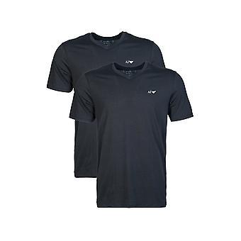 Armani Jeans 2 Pack V Hals T-skjorte 8n6d026jpfz
