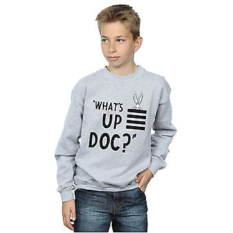 Looney Tunes Boys Bugs Bunny What's Up Doc Stripes Sweatshirt