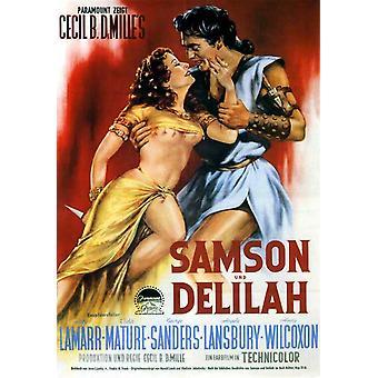 Samson und Delilah Movie Poster (11 x 17)