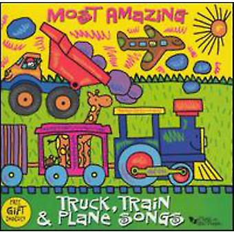 Music for Little People - Most Amazing Truck Train & Plane Songs [CD] USA import