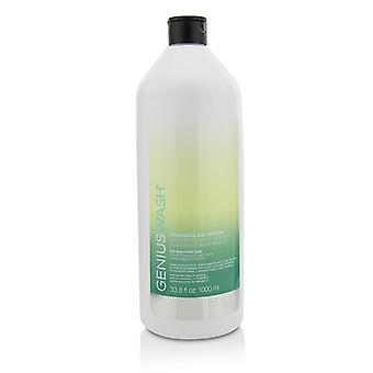 Redken Genius Wash Cleansing Conditioner (for Medium Hair) - 1000ml/33.8oz