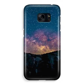 Samsung S7 Full Print Case - Travel to space