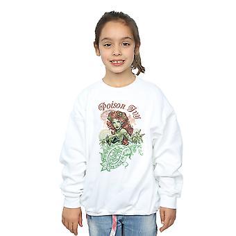 DC Comics Girls Poison Ivy Paisley Sweatshirt
