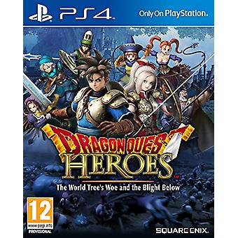 Dragon Quest Heroes The World Trees Woe and The Blight Below (PS4) - New