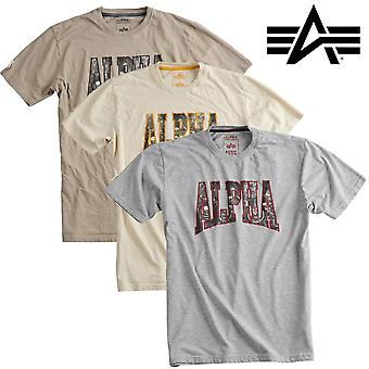 Alpha industries bluzkę Fotografia Drukowanie T