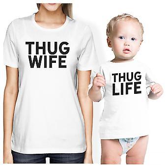 زوجة السفاح السفاح الحياة التي شيرت الرضع لطيف أمي بيبي بوي مطابقة قميص