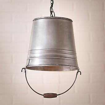 Irvin's Country Tinware Water Bucket Pendant