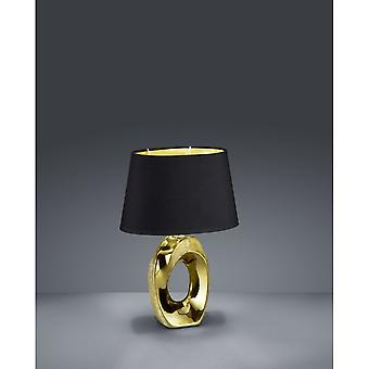 Trio Lighting Taba Modern Gold Ceramic Table Lamp