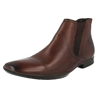 Mens Base London Ankle Boots Leo