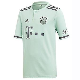 2018-2019 Bayern München Adidas bort skjorte (barn)