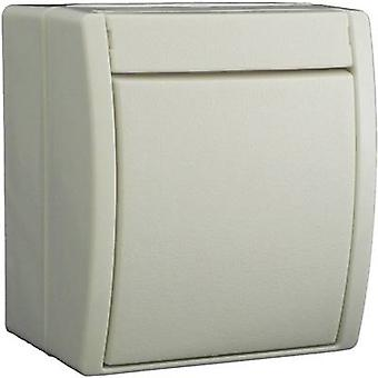 Busch-Jaeger 2601/6 W-54 Wet room switch product range Toggle switch Ocean (surface-mount) White