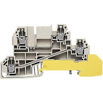Jakelija sarjaliittimet WDL 2.5 ja liitännät WDL 2.5/L/L/PE 1030200000 Harmaa, Vihreä, Keltainen Weidmüller 1 kpl