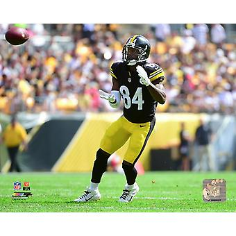 Antonio Brown 2018 Action Photo Print