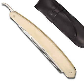 Buffalo Straight Razor 5/8 Bone handle Direct from France