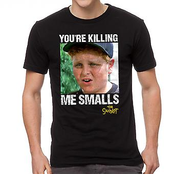 The Sandlot You're Killing Me Smalls Ham Scotty Men's Black T-shirt