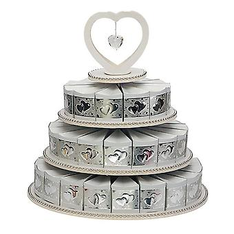 Club Green 3 Tier 48 Piece Paper Cake Box