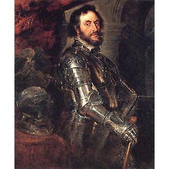 Jarl av Arundel, Thomas Howard, 60x50cm