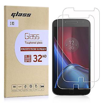 Extra Armoured Tempered Glass for Motorola Moto G4 Plus - 2 Pack