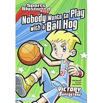 Ingen vill leka med en boll Hog