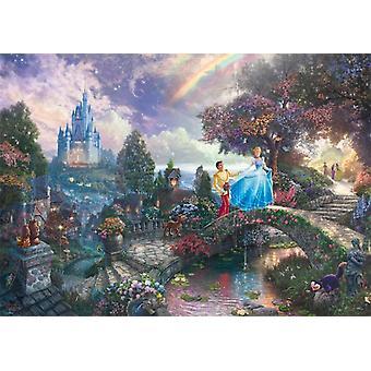 Schmidt Kinkade: Disney Tuhkimo palapeli (1000 kpl)
