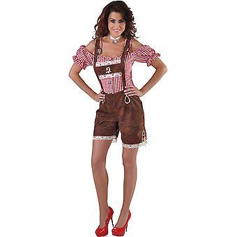Vrouwen kostuums Tiroolse vrouwen broek alm hirsch