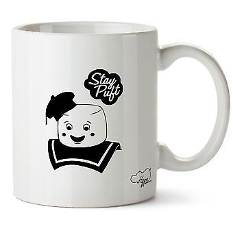 Hippowarehouse Puft Character Printed Mug Cup Ceramic 10oz