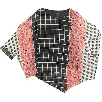 TIA Top 74403 7282 Black With White And Pink