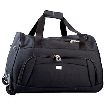 Rallegra Cabin Wheeled Duffle Bag - Black