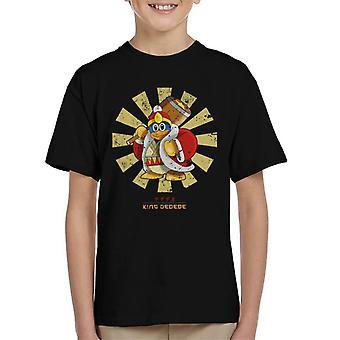 King Dedede retro japanilainen Kirby lasten T-paita