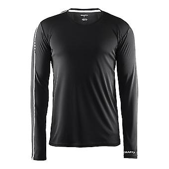 Craft Mens Mind 100% Polyester Long Sleeve Running Tee