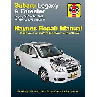 Subaru Legacy 2010-16 and Forester 2009-16 by Haynes - 9781620922576