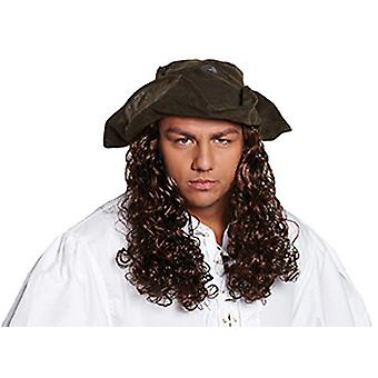 Korsan Deri Optik Saç Korsan Şapka