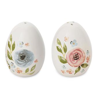 Cooksmart Country Floral Salt and Pepper Shakers